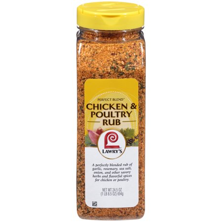 Lawry's Perfect Blend Chicken & Poultry Rub, 24.5