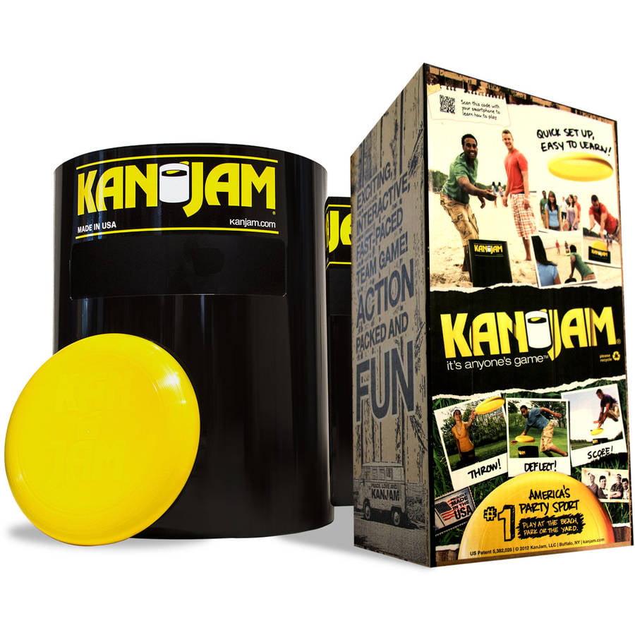Kan Jam Ultimate Flying Disc Frisbee Game Beach Lawn Full Size KANJAM CanJam