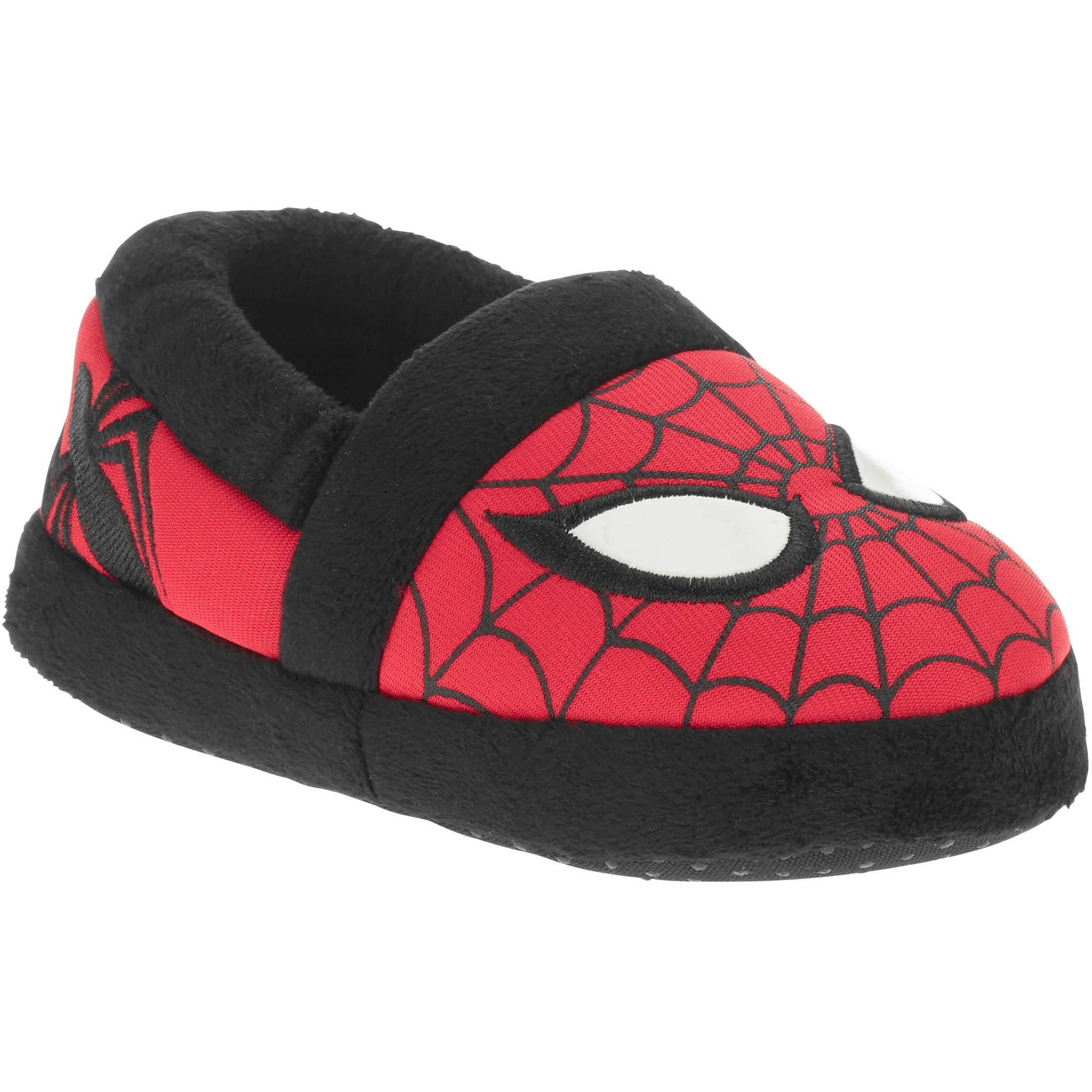 Marvel Licensed Tdlr Slipper Spiderman - Walmart.com