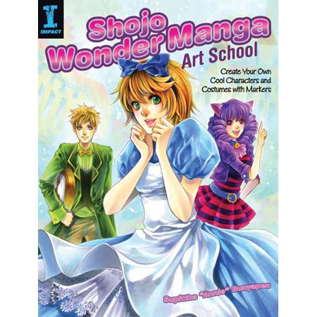 Shojo Wonder Manga Art School  Create Your Own Cool Characters And Costumes With Markers