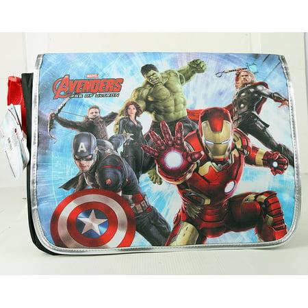 Marvel Age of Ultron Messanger Bag Kids School Bag, Marvel Avengers Age of Ultron Messanger Bag Kids School Bag By - Kids Avengers