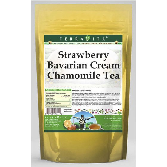 Strawberry Bavarian Cream Chamomile Tea (50 tea bags, ZIN: 538333) - 3-Pack