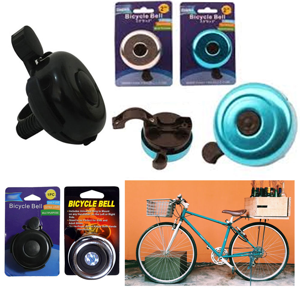 Universal Outdoor Bike Bicycle Bell Ring Cycling Bike Loud Horn Alarm Handlebar