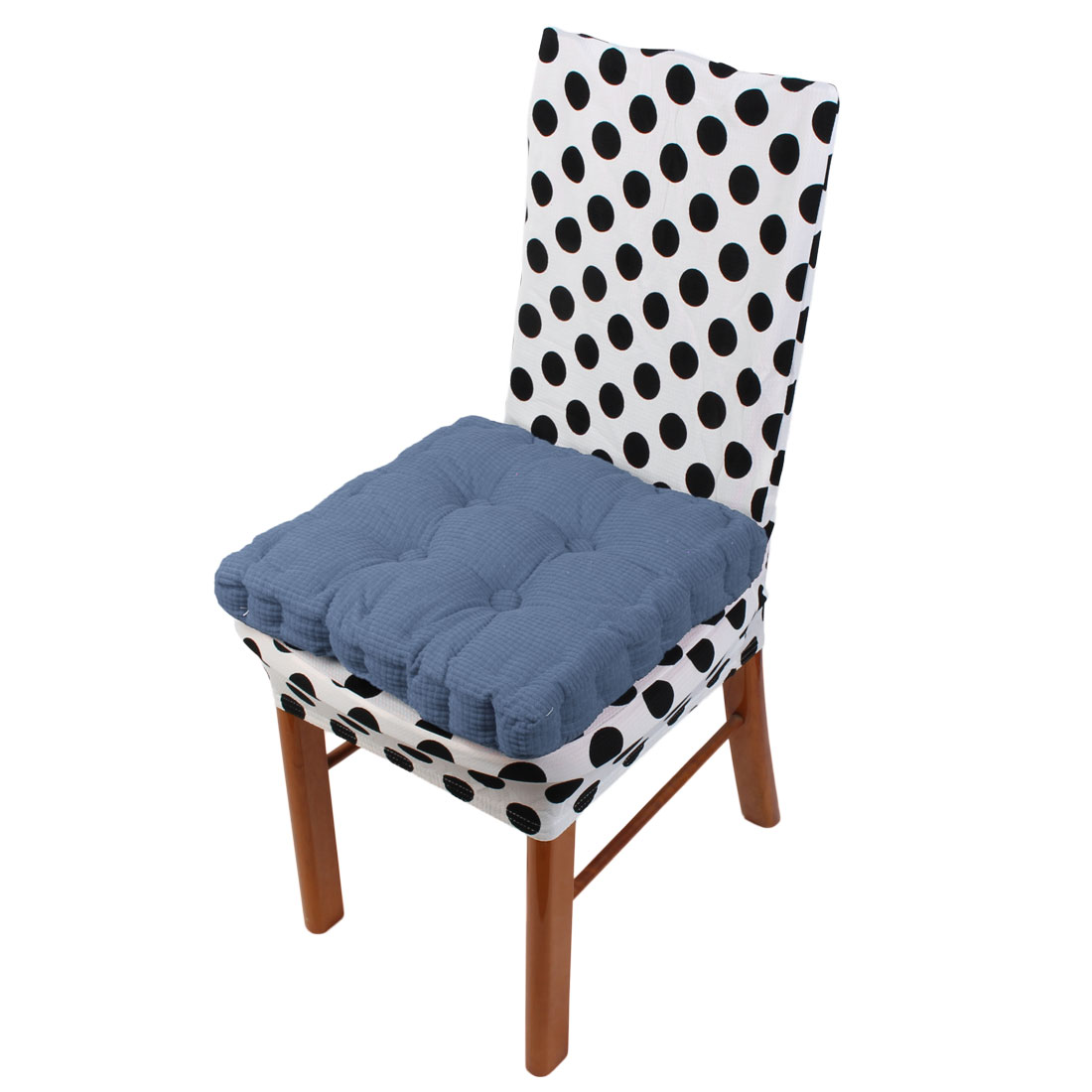 Home Garden Patio Square Shaped Anti Slip Seat Cushion Chair Pad by Unique-Bargains