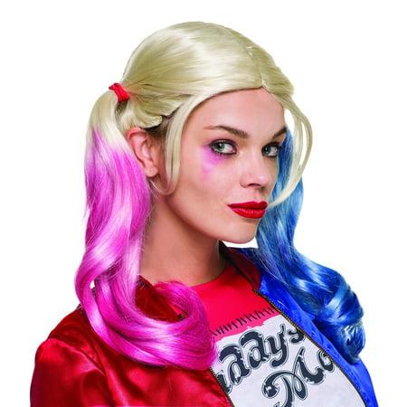 Harley Quinn Wig Suicide Squad Margot Robbie DC Joker Deadshot Villain Movie - image 1 de 1