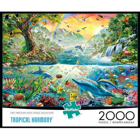 Buffalo Games 2000 Piece Tropical Harmony Puzzle