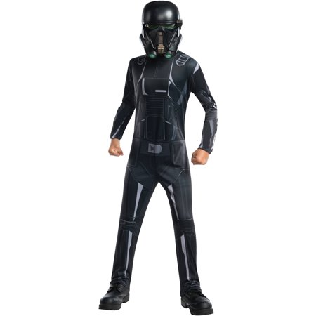 Star Wars Rogue One Death Trooper Child's Costume, Large (10-12) (Death Star Costume)