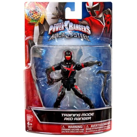 Power Rangers Ninja Steel Training Mode Red Ranger Action Figure