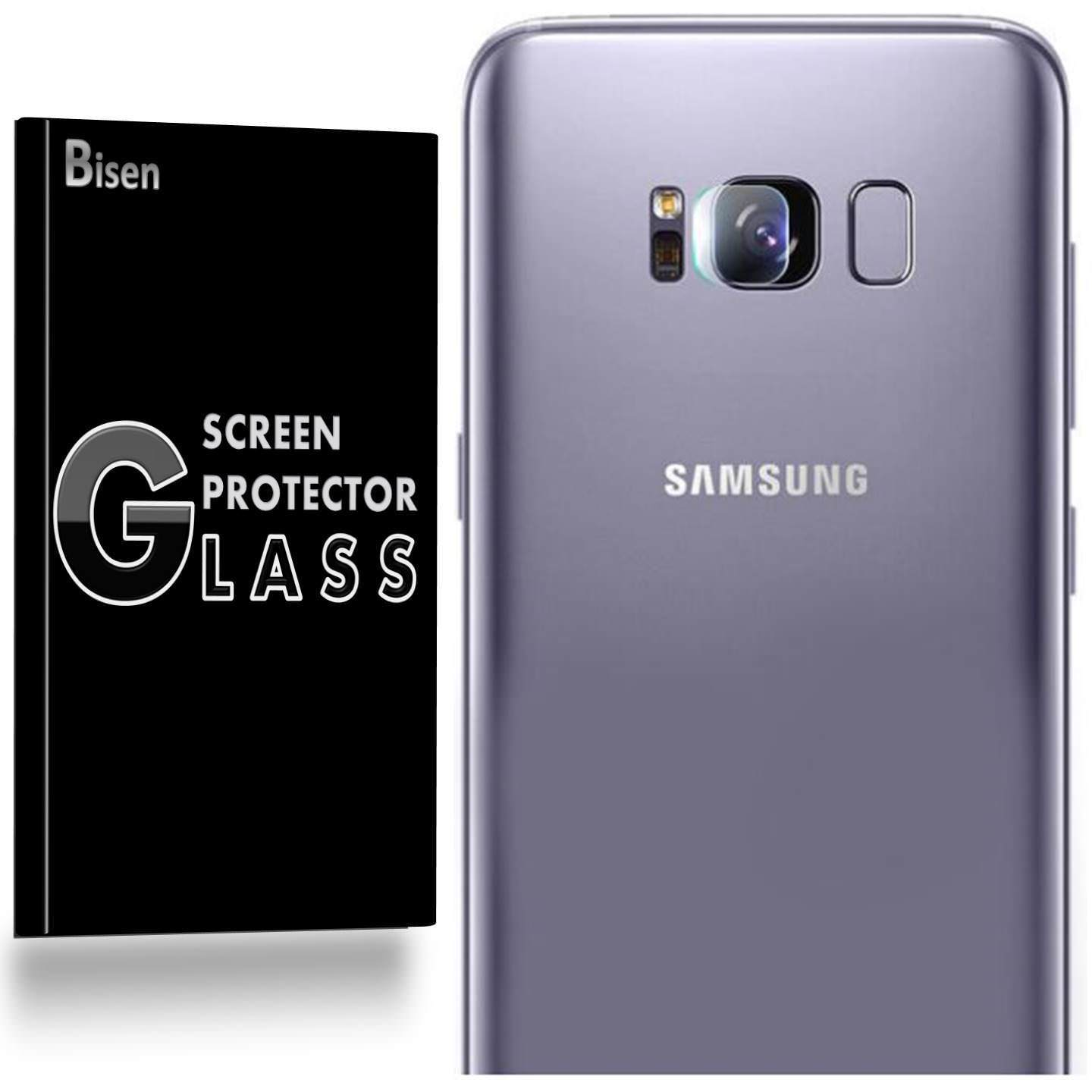 [2-Pack] Back Camera OF Samsung Galaxy S9 BISEN Tempered Glass Screen Protector, Anti-Scratch, Anti-Shock, Shatterproof, Bubble Free