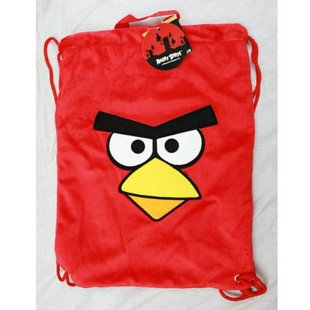 String Backpack - - Red Plush Sling Cinch Bag New Boys f11an7246](String Backpack)