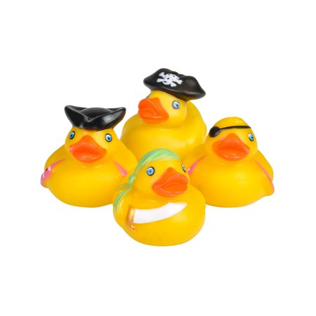 Toy Pirate Rubber Ducks Bath Set Of 12 ()