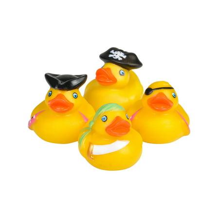 Toy Pirate Rubber Ducks Bath Set Of - Graduation Rubber Ducks