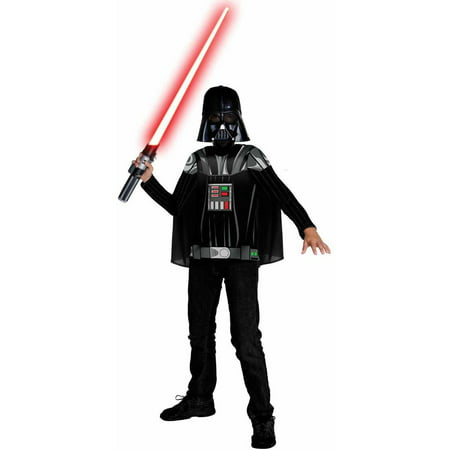 Star Wars Darth Vader Child Halloween Costume - Darth Vader Costume Replica