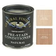 General Finishes Water Based Pre-Stain Conditioner, Natural, Quart