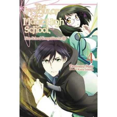 The Irregular at Magic High School, Vol. 4 (light novel) : Nine School Competition Arc, Part