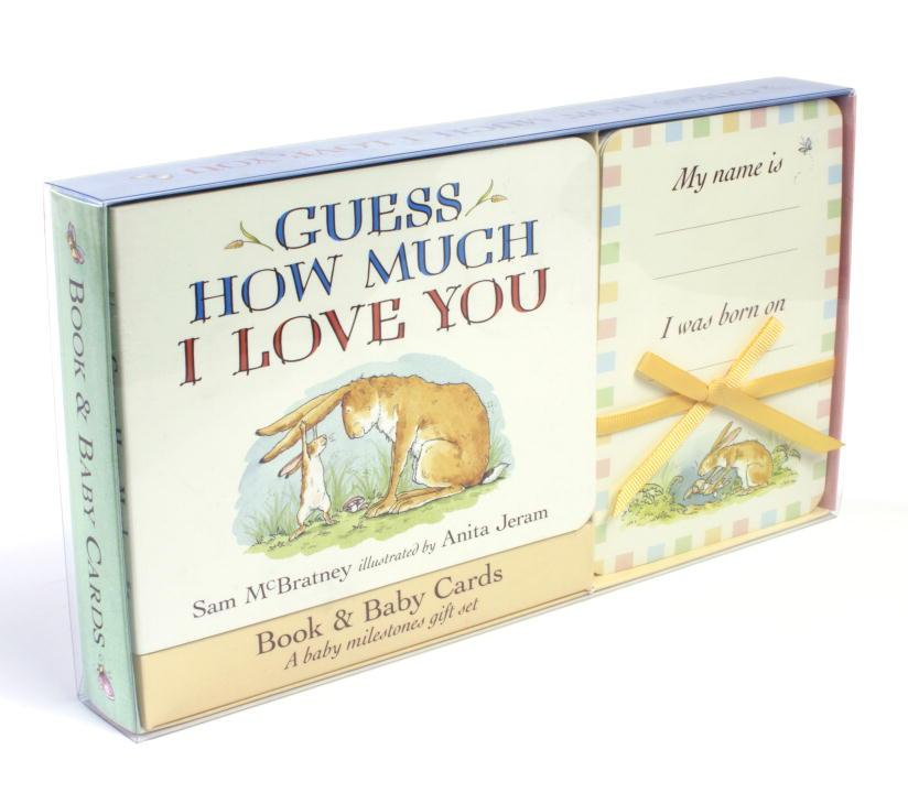 GUESS HOW MUCH I LOVE YOU Set Of 5 Storage Boxes Gifts Baby Hamper Storage BN ⭐️