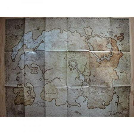 Elder Scrolls Online Map of Tamriel (21 x 26) - Walmart.com
