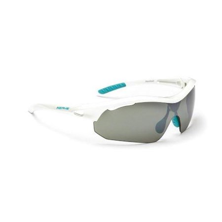 - Optic Nerve Hardtail Two Interchangeable Lens Sunglasses, Shiny White -