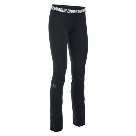 under armour 1280684 women's black favorite charged pants - size