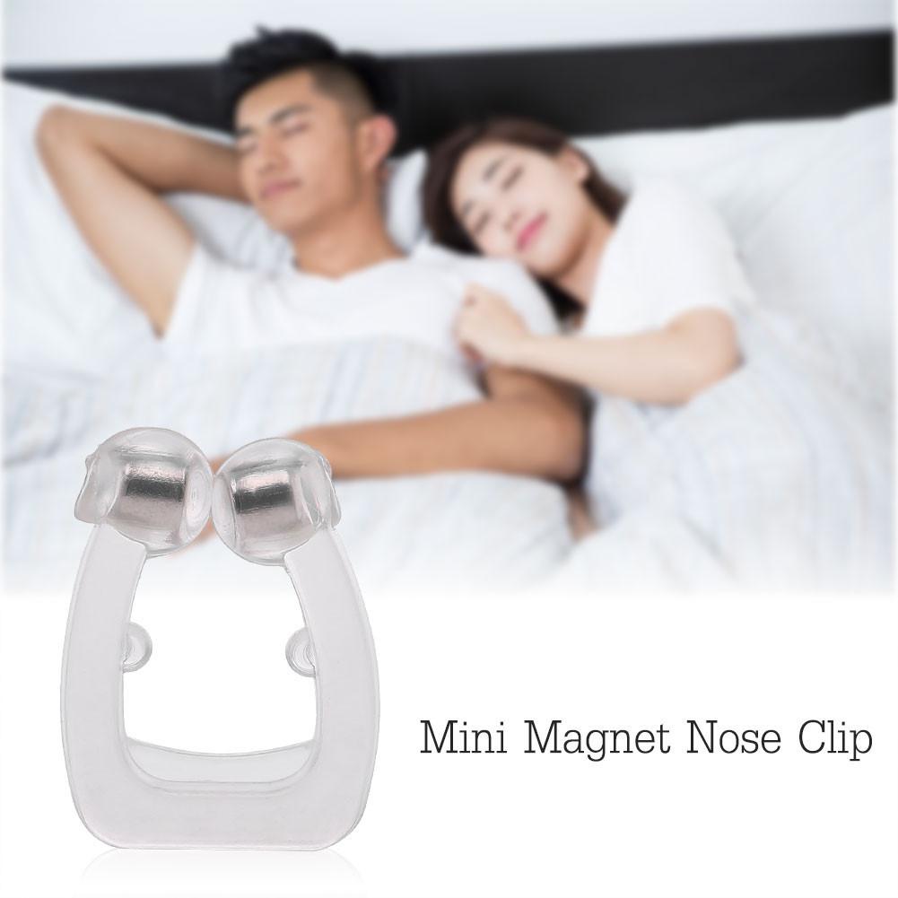 Yosoo Mini Magnet Nose Clip Anti Snoring Nose Buds Anti Snore Apnea Stop Snore Device,Anti Snoring,Nose Breathing
