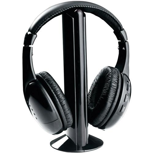 Naxa NE922A Professional 5-in-1 Wireless Headphones
