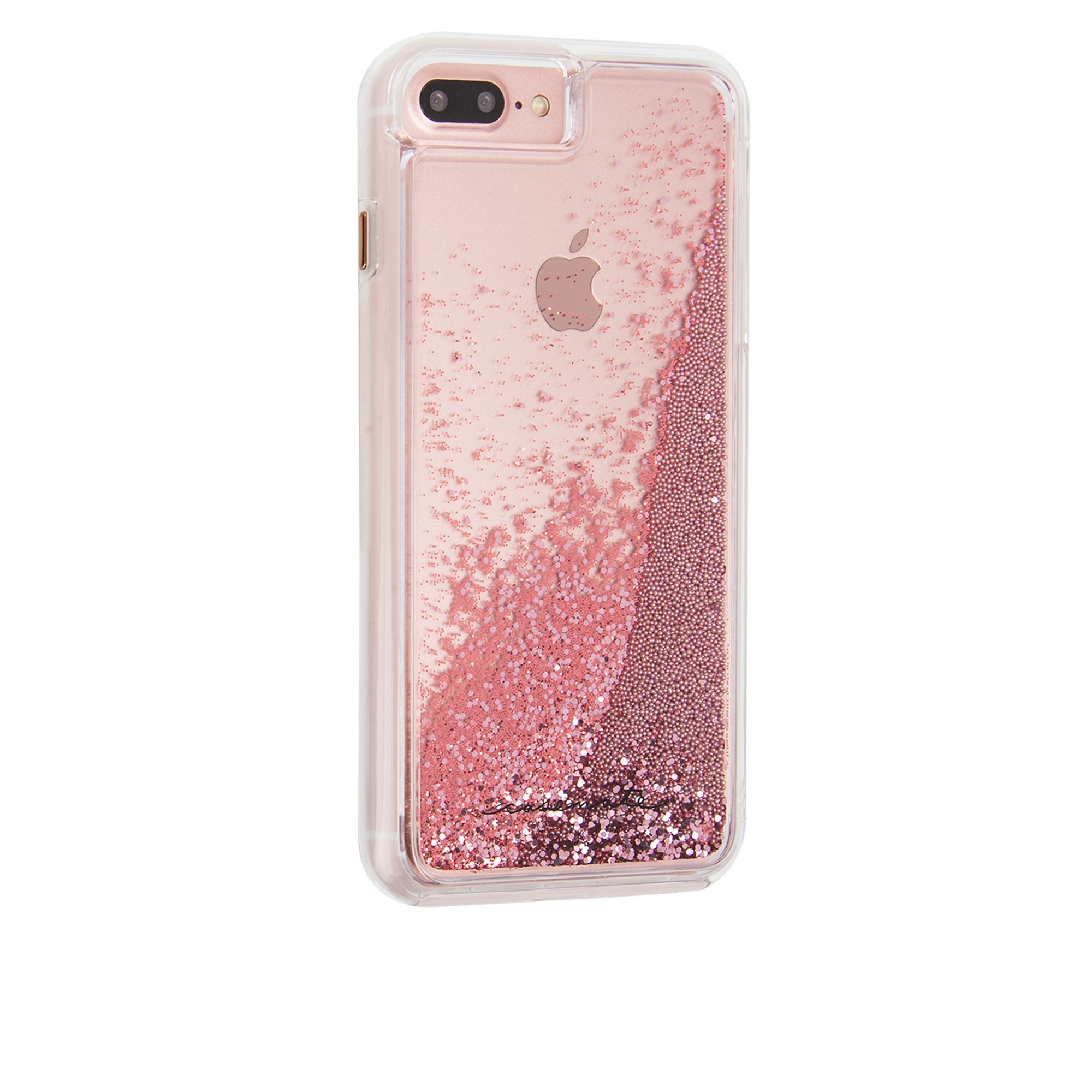 timeless design 2e995 00c63 iPhone 8/7/6S Plus Case-mate Rose Gold Waterfall Naked Tough case