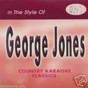 GEORGE JONES Country Karaoke CDG 15