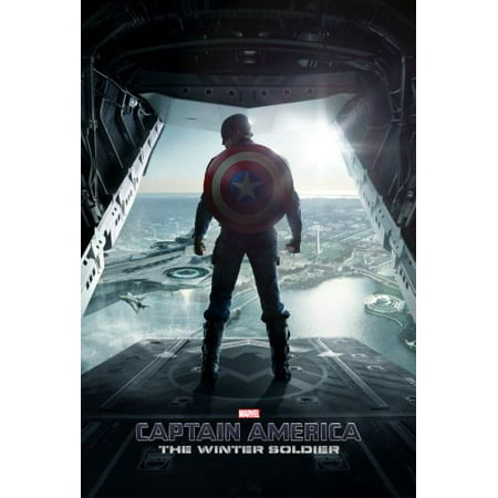 Entertainment Room Decor Captain America Poster 11inx17in Wall Art