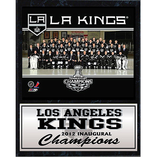 NHL Los Angeles Kings Stat Plaque, 12x15
