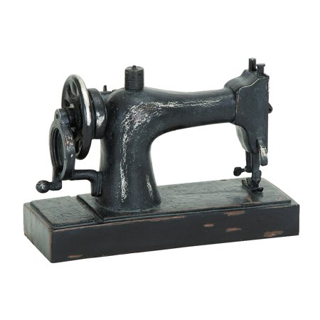 Age 10 Figurine - Industrial Age Sewing Machine Decor
