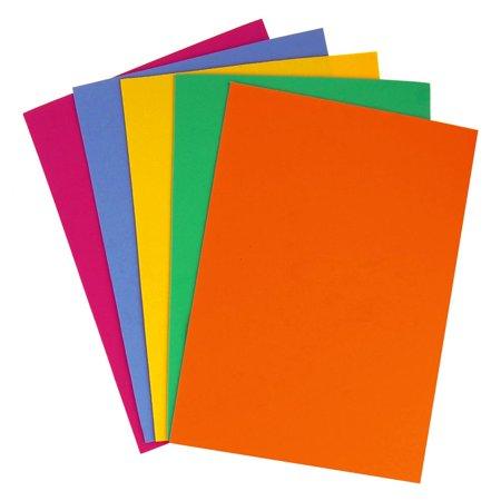 Plain EVA Foam Sheet, 11-1/2-Inch x 8-1/2-Inch, 5-Piece, Glamour Mix