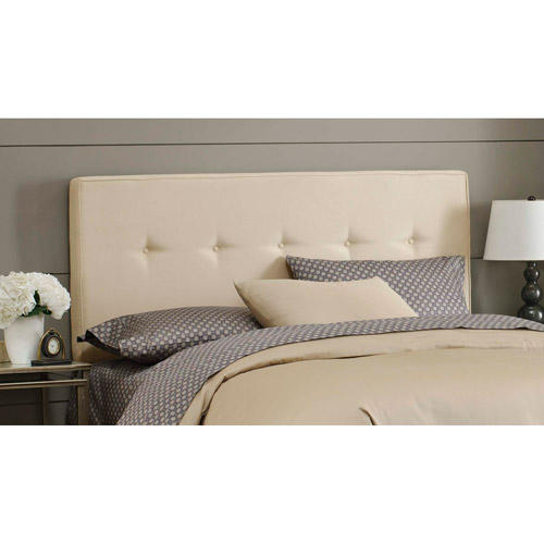 Cotton Duck Button Headboard, Multiple Colors