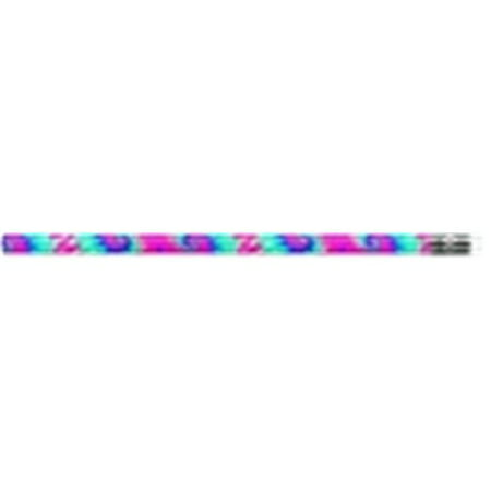 Product Assortment - Moon Products Tie Dye Pencils, Assorted Fun Colors, Pack of 12