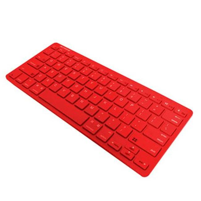 Xtreme Cables 59594 Bluetooth Wireless Keyboard - Red