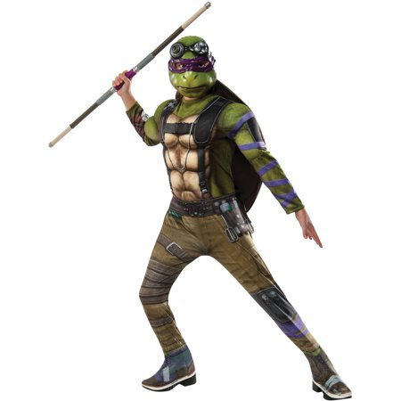 Deluxe Teenage Mutant Ninja Turtle Costume (Teenage Mutant Ninja Turtles 2 Donatello Deluxe Child Halloween)