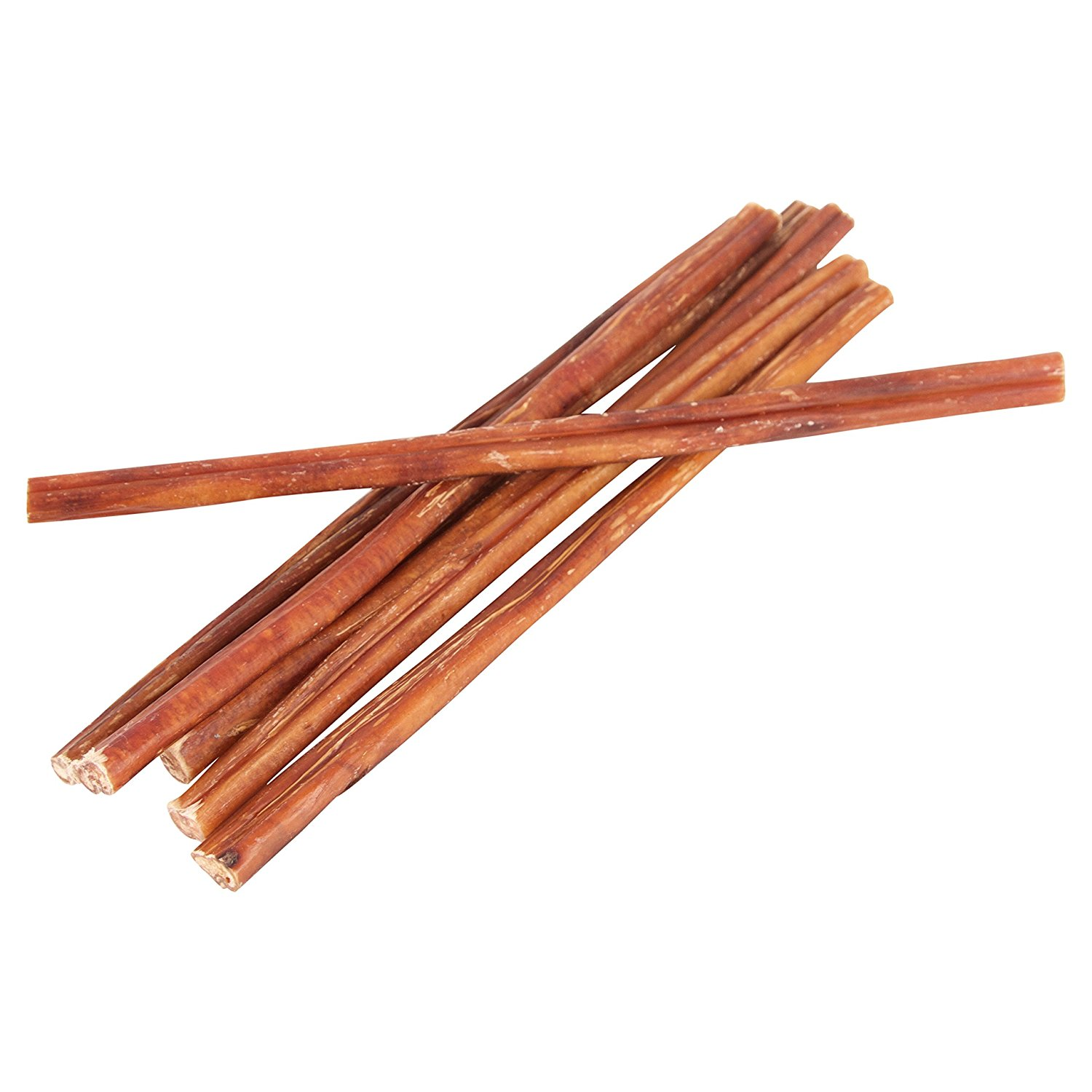 """12"""" Straight Bully Sticks for Dogs [Small Thickness] (100 Pack) - Natural Low Odor Bulk Dog Dental Treats, Best Thick Pizzle Chew Stix, 12 inch, Chemical Free"""