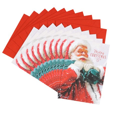 Hallmark Christmas Card Assortment, St. Nick (10 Cards with Envelopes)