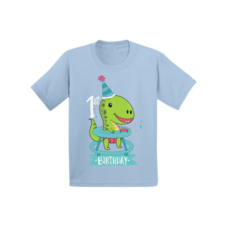 Baby 1st Birthday Infant Shirt First Gifts Dinosaur Boy For Girl Shirts 1 Year Old Party Outfit