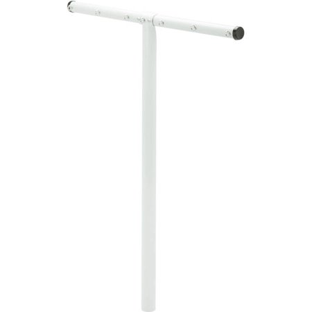 Honey Can Do T-Post Outdoor Drying Rack with 7 Line Hooks, White Honey Can Do 7-Line T-Post Outdoor Clothes Dryer:7-Line hooks for hanging clothesWorks perfect for outdoor dryingRust and moisture resistant coated steelMeasures: 32.68 L x 2.36 W x 79.13 H