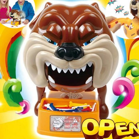 Novelty Prank Party Toys Beware of Barking Dog Steal Bones Electric Toy for Boys and Girls