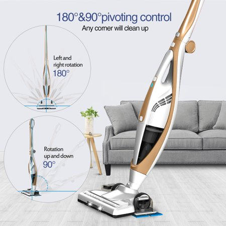 Liiva Cordless Vacuum Cleaner?5 in 1 Upright Vacuum Cleaner with High Power?Lightweight Stick and Handheld Vacuum and Floor (Best Mop For Hardwood Floors 2019)