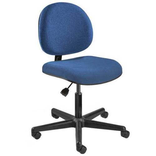 "BEVCO Task Chair 17"" to 22""H, Blue, V4007HC-BLU"