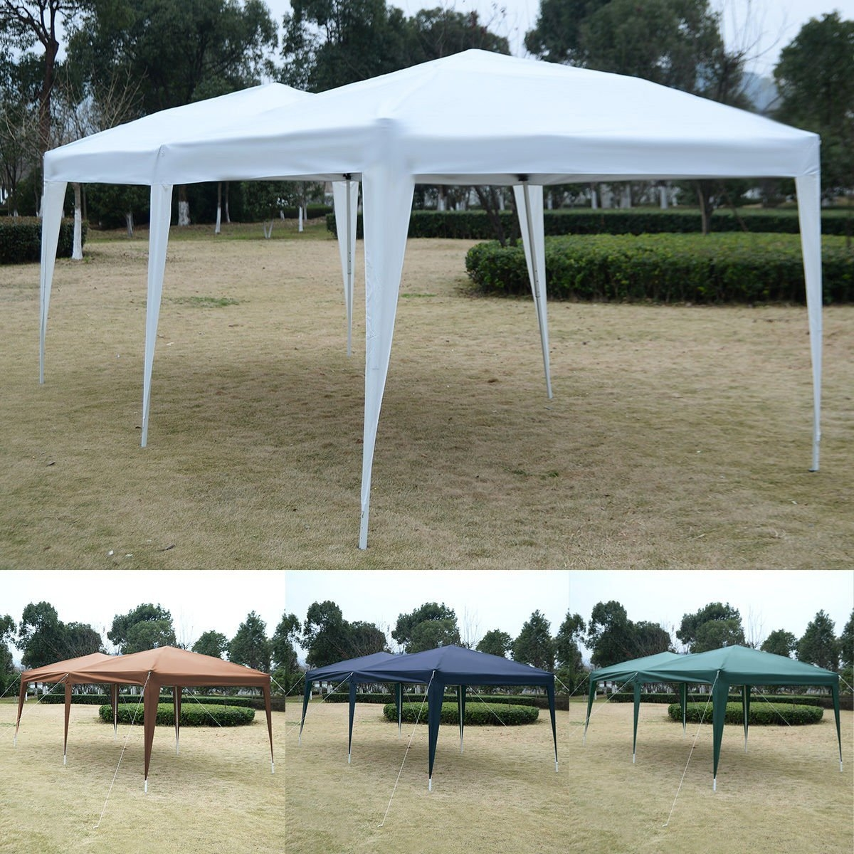 New MTN-G MTN-G 10'X20' EZ POP UP Gazebo Wedding Party Tent Folding