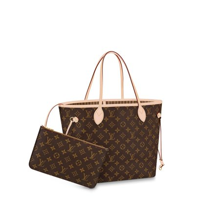 Louis Vuitton Handbags Totes Bags Neverfull MM, Monogram Canvas, M40995