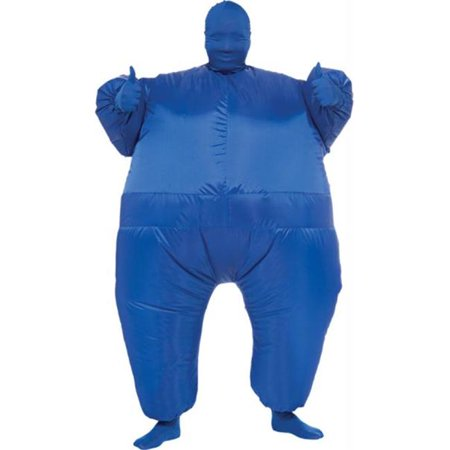 Costumes for all Occasions RU887108 Inflatable Skin Suit Adult Blu](Inflatable Dinosaur Suit)