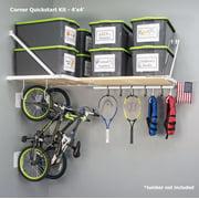 Rhino Shelf Universal Corner Quickstart Kit - 4 feet x 4 feet