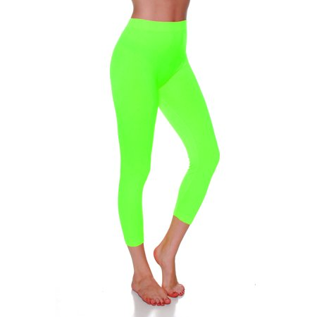 613382521fa5b2 Essential Basic - Essential Basic Women Active Athletic Capri Calf Seamless  Legging, Junior - Plus Sizes - Walmart.com