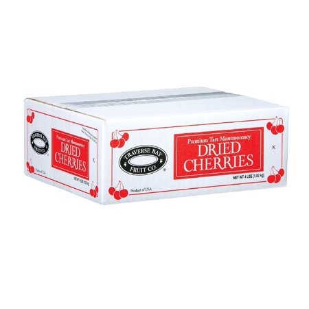 Cherry Central Traverse Bay Fruit Dried Cherries, 4 (Traverse Bay Dried Cherries 4 Lb Box)