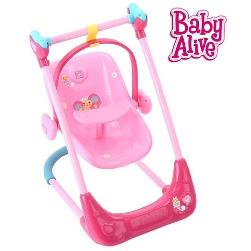 Baby Alive Swing High Chair Combo Walmart Com Walmart Com