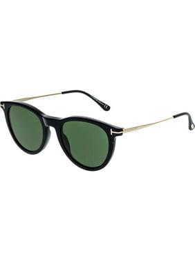 e96e2e2b883 Product Image Tom Ford Kellan-02 FT0626-01N-51 Black Oval Sunglasses